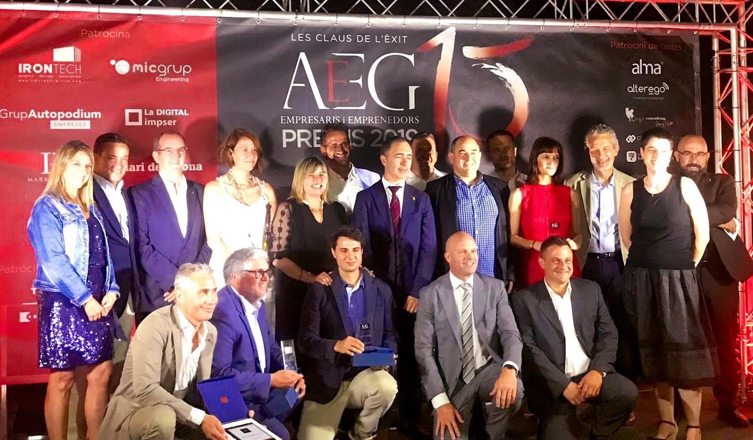 Gala 2019 AEEG. La revista Empresarial Girona compleix 50 edicions