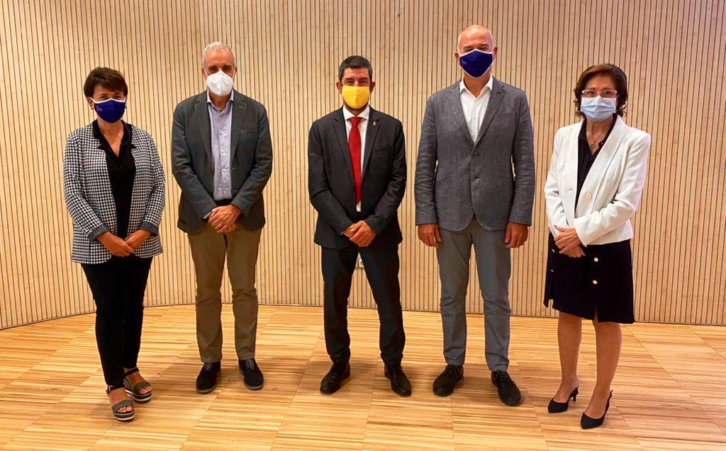 Patronat de la Politència de la UdG i la Cambra de Barcelona