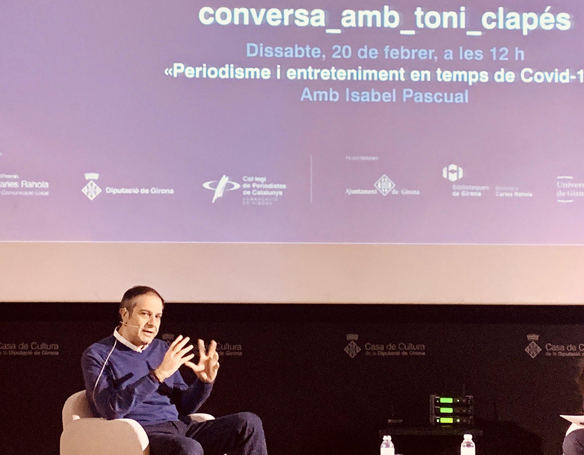 Toni Clapés Conferència a Girona. Blog Eduard Batlle